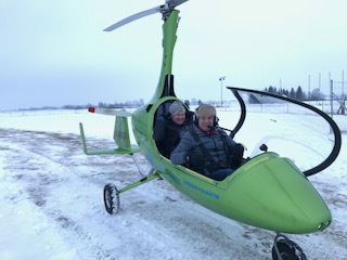 Gyrocopter training winter